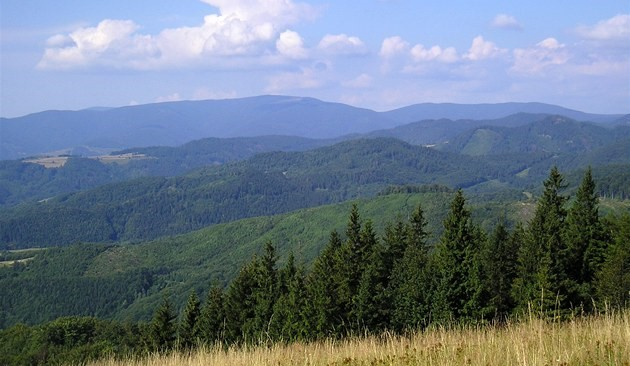 Bjerge, Slovakiet